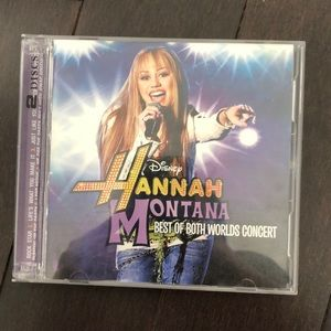 FREE W PURCH Hannah Montana Miley Cyrus CD DVD Set
